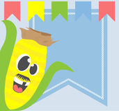 Corn cartoon Royalty Free Stock Images