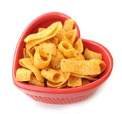 Corn chip Royalty Free Stock Image