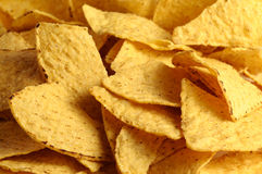 Corn chips. Corn chips in the capacity of background Stock Image