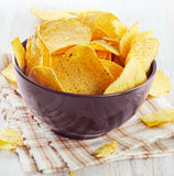 Corn chips Stock Photo