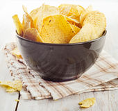 Corn chips Stock Photography