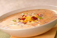 Corn chowder Royalty Free Stock Photography