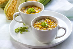 Corn Chowder Royalty Free Stock Images
