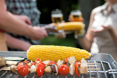 Corn closeup Royalty Free Stock Images