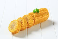 Corn on the cob Royalty Free Stock Image