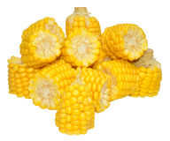 Corn On The Cob Portions Stock Photos