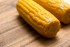 Corn Cobs Barbecue Royalty Free Stock Images