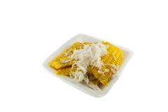 Corn and Coconut Royalty Free Stock Photo