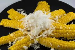 Corn and Coconut Royalty Free Stock Image