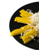 Corn and Coconut Royalty Free Stock Images