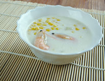 Corn crab soup Royalty Free Stock Photography