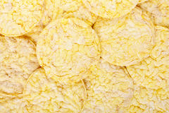 Corn crackers texture background Royalty Free Stock Photo