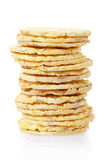 Corn crackers stack Stock Images
