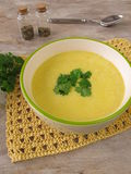 Corn cream soup Stock Photography