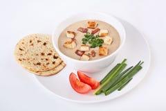 Corn Cream Soup Stock Photography