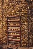 Corn crib Royalty Free Stock Photos