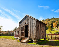 Corn crib Royalty Free Stock Image