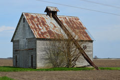 Corn Crib Barn Royalty Free Stock Photo