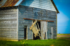 Corn Crib Barn Stock Image