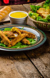 Corn crusted Chicken Tenders Royalty Free Stock Image