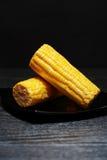 Corn On Dark Royalty Free Stock Photography