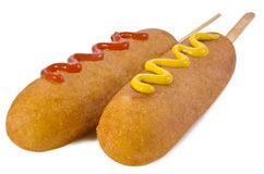 Corn dog Royalty Free Stock Photography