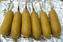 Corn dog Royalty Free Stock Images