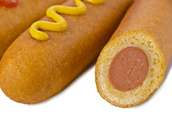 Corn dog Royalty Free Stock Photo