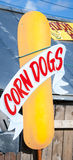 Corn dogs sign Stock Images