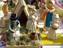 Corn dolls Stock Image