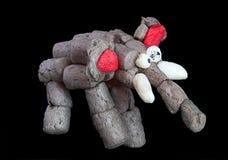 The corn elephant. Creativity of children from preschool age Royalty Free Stock Image