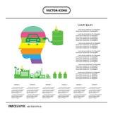 Corn ethanol biofuel vector icon. Alternative environmental frie Royalty Free Stock Images