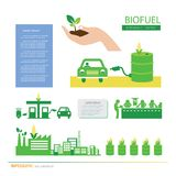 Corn ethanol biofuel vector icon. Alternative environmental frie. Vector corn ethanol biofuel vector icon. Alternative environmental friendly fuel Royalty Free Stock Photography