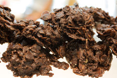 Corn Flake chocolate cookie Stock Images