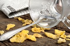 Corn flake Stock Photography
