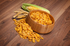 Corn flakes Royalty Free Stock Photos