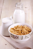 Corn flakes! Stock Photography