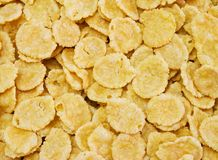 Corn flakes. Breakfast as background royalty free stock image
