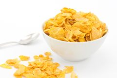Corn-Flakes Stockfotos