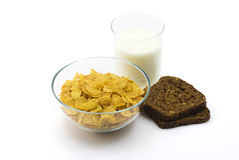 Corn-flakes Royalty Free Stock Photography