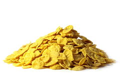 Corn-flakes. Stock Photo