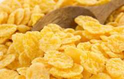 Corn flakes as background Royalty Free Stock Images