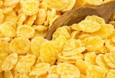 Corn flakes as background Stock Images