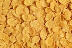 Corn flakes background Stock Photos