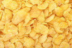 Corn flakes background Royalty Free Stock Photography