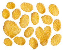Corn flakes background Royalty Free Stock Photo