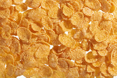 Corn flakes background Royalty Free Stock Photos