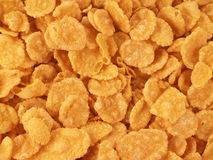 Corn-flakes background Royalty Free Stock Photos