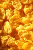 Corn flakes background Stock Photo