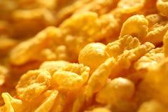 Corn flakes background Royalty Free Stock Photos